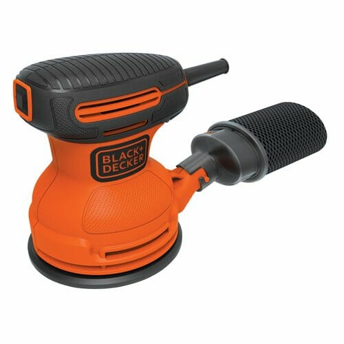 black and decker orbital sander BDERO100 - best light duty orbital sander
