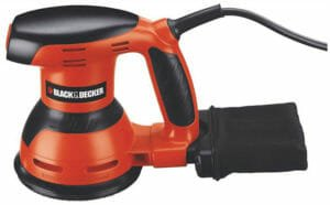 BLACK+DECKER KA198 230 V 125 mm Random Orbit Sander