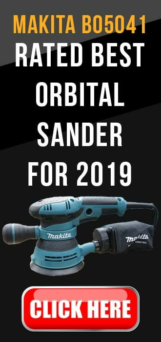 Makita bo5041 - rated best orbital sander 2019