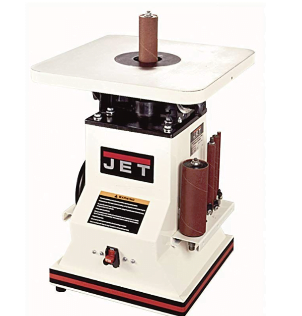 Benchtop Oscillating Spindle Sander with Spindle Assortment