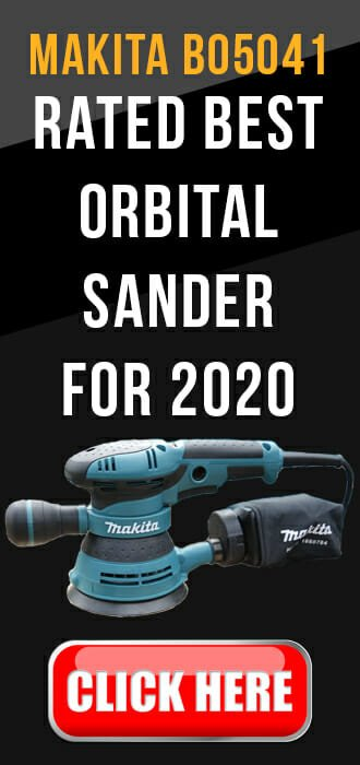 Makita bo5041 - rated best orbital sander 2020